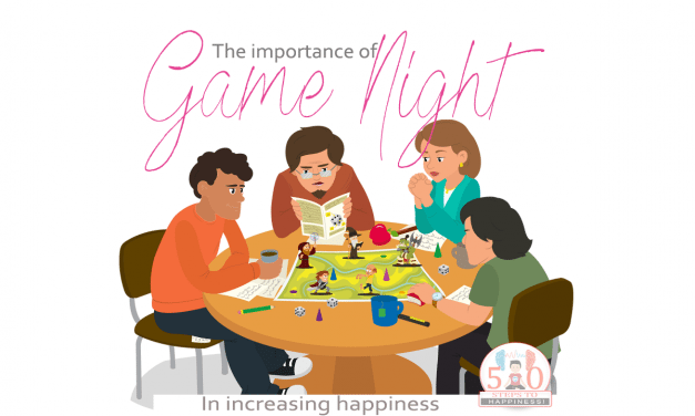 Games Increase Happiness