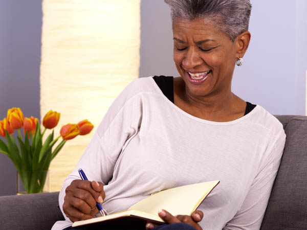 Journaling a new life blueprint for happiness
